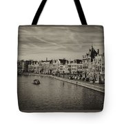 Historic Haarlem, Netherlands Bw Sephia Tote Bag
