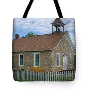 Historic Hinerville Schoolhouse  Tote Bag