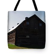 Historic Horse Barn Tote Bag