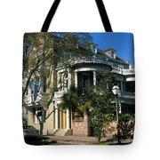 Historic Houses In A City, Charleston Tote Bag