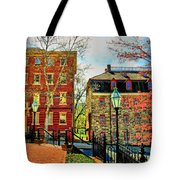 Historic Intersection Tote Bag