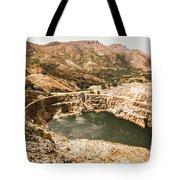 Historic Iron Ore Mine Tote Bag