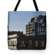 Historic Landmark Signs Roanoke Virginia Tote Bag