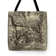 Historic Lane Antique Sepia Tote Bag