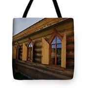 Historic Log Church Tote Bag