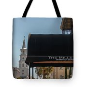 Historic Mills House Lodging Tote Bag