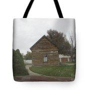 Historic Mormon Cabin Tote Bag
