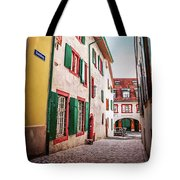 Historic Old Town Basel Switzerland  Tote Bag