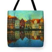 Historic Old Town Lubeck Tote Bag