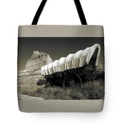 Historic Oregon Trail - Vintage Photo Art Print Tote Bag