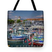 Historic Port Of Nice, France Tote Bag