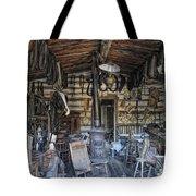 Historic Saddlery Shop - Montana Territory Tote Bag