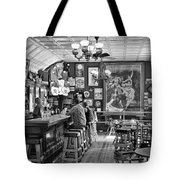 Historic Saloon - Virginia City Montana Tote Bag by Daniel Hagerman