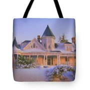 Historic Sidna Allen House Tote Bag