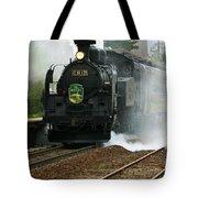 Historic Steam Train Tote Bag