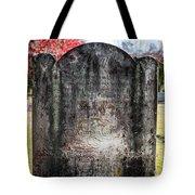 Historic Stone - Quaker Cemetery Tote Bag
