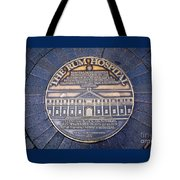 Historic Sydney Hospital - Plaque On Sidewalk Tote Bag