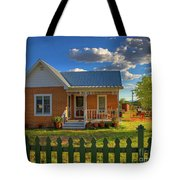 Historic Tombstone In Arizona Tote Bag