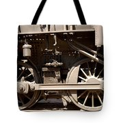 Historic Trains Tote Bag