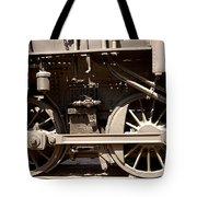 Historic Trains Tote Bag