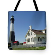 Historic Tybee Island Lighthouse II Tote Bag