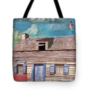 Historic Wooden School House  Tote Bag