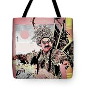 Historical Chinese Warrior Tote Bag