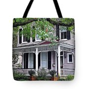 Historical Home In Wilmington Tote Bag