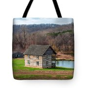Historical House Tote Bag