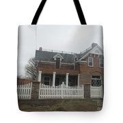 Historical House In Taylor Tote Bag