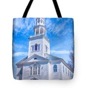 Historical Old First Church Tote Bag