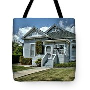 Historical Old Home Tote Bag