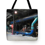 Historical Pipes Tote Bag