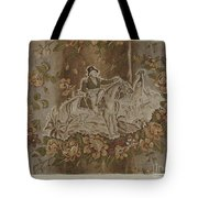 Historical Printed Textile Tote Bag