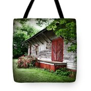 Historical Train Station In Belle Mina Alabama Tote Bag