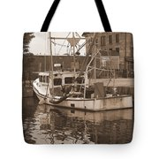 Historical Waterfront  Tote Bag