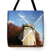 Historical Windmill Tote Bag