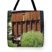 History In Tincup Tote Bag