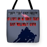History Lives In The Given Tote Bag