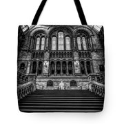 History Museum London Tote Bag by Adrian Evans