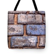 Hit The Bricks Tote Bag