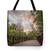 Hit The Trail Tote Bag