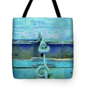 Hitch In Blues Tote Bag