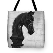 Hitching Post Art Tote Bag