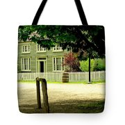 Hitching Post Tote Bag