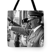Hitler And Italian Count Ciano Chancellory Berlin 1939 Tote Bag