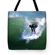 Hitting The Wave Tote Bag