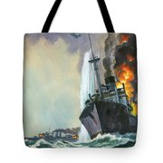 Hk Thirty Three  The Deadly Penguin Tote Bag