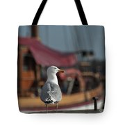 Hmm... Sooo... East Or West Today... Tote Bag