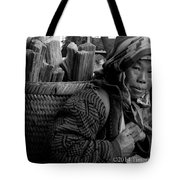 H'mong Woman Tote Bag